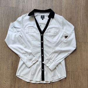 2/$20 Express The Essential Shirt Button Down Top
